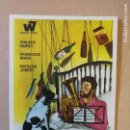 Coleccionismo Papel Varios: FOLLETO DE MANO.PROGRAMA DE CINE.PELICULA EL ARTE DE VIVIR PERO BIEN.. Lote 161086270