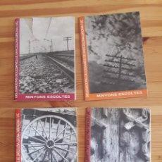 Coleccionismo Papel Varios: MINYONS ESCOLTES 4 BOLETIN CIRCULAR DIOCESANAS BARCELONA GIRONA TARRAGONA VIC ESCOLTISMO BOY SCOUTS. Lote 161481633