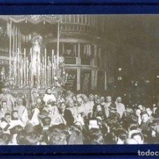 Coleccionismo Papel Varios: TARJETA POSTAL SEMANA SANTA DE MALAGA-COLOR MARRON-NUEVA SIN CIRCULAR-LEER DESCRIPCIÓN .. Lote 161765110