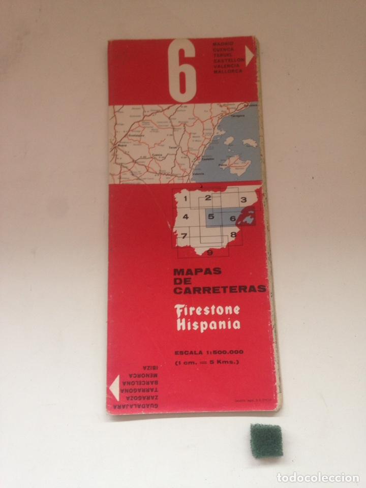MAPAS DE CARRETERAS - FIRESTONE HISPANIA NRO 6 (Coleccionismo en Papel - Varios)
