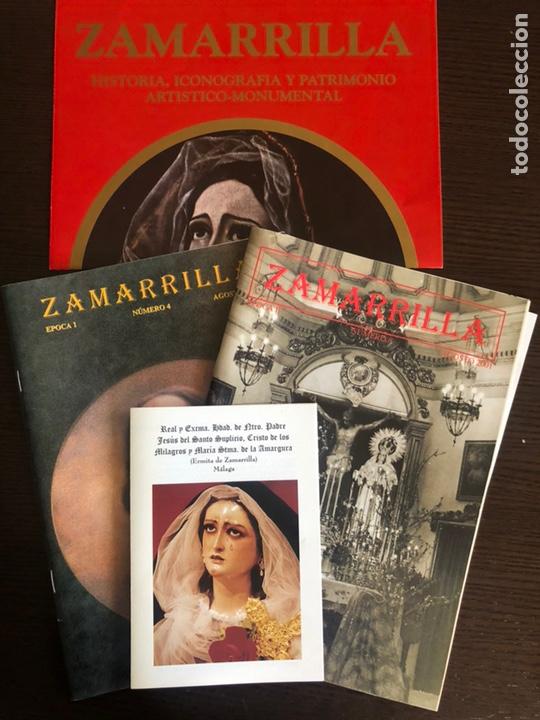 BOLETINES ZAMARRILLA AGOSTO DE 1999 Y 2001 Y CARTEL DE ANUNCIO DE LIBRO (Coleccionismo en Papel - Varios)