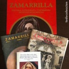 Coleccionismo Papel Varios: BOLETINES ZAMARRILLA AGOSTO DE 1999 Y 2001 Y CARTEL DE ANUNCIO DE LIBRO. Lote 161882505