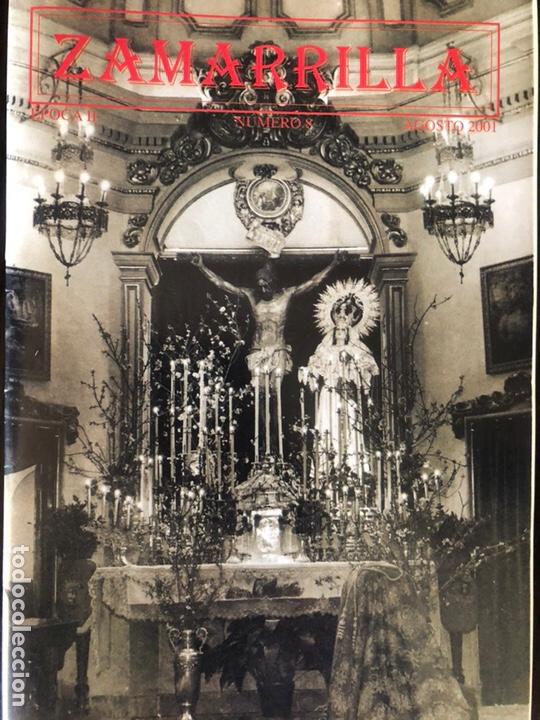 Coleccionismo Papel Varios: Boletines Zamarrilla agosto de 1999 y 2001 y cartel de anuncio de libro - Foto 3 - 161882505