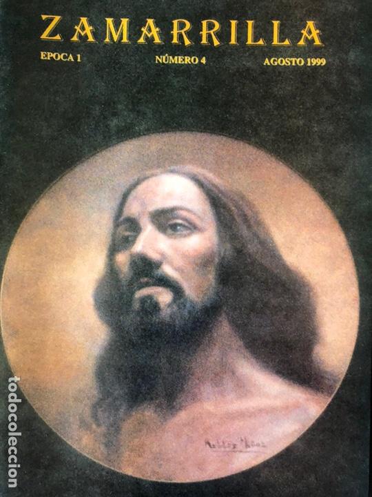 Coleccionismo Papel Varios: Boletines Zamarrilla agosto de 1999 y 2001 y cartel de anuncio de libro - Foto 4 - 161882505