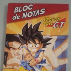 Coleccionismo Papel Varios: BLOC DE NOTAS DRAGON BALL GT - OTAKU PACK - AB TOYS 1996. Lote 161997572