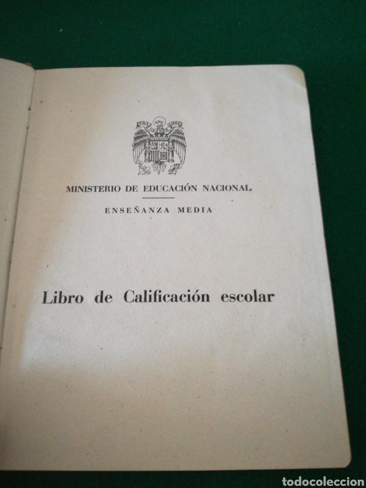 Coleccionismo Papel Varios: LIBRO DE CALIFICACION ESCOLAR - Foto 2 - 162543834