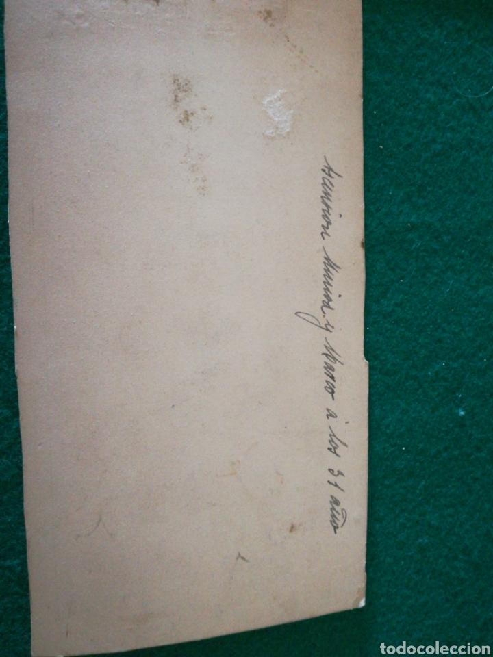Coleccionismo Papel Varios: FOTOGRAFÍA ANTIGUA DE DAMA - Foto 4 - 162547144