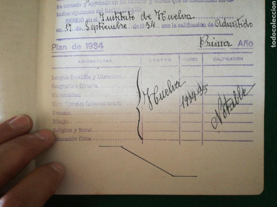 Coleccionismo Papel Varios: LIBRO DE CALIFICACION ESCOLAR - Foto 5 - 162543834