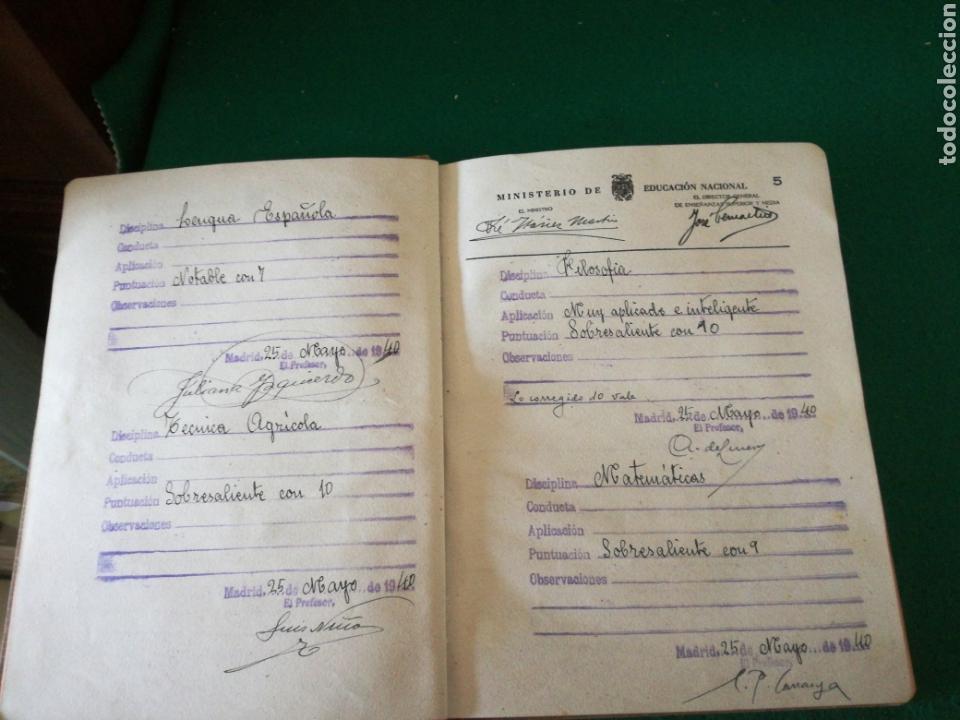 Coleccionismo Papel Varios: LIBRO DE CALIFICACION ESCOLAR - Foto 6 - 162543834