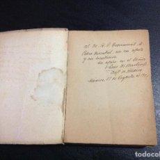 Outros artigos de papel: AUTOGRAFO FUTURO SANTO ARZOBISPO DE MEXICO LUIS MARIA MARTINEZ RODRÍGUEZ FIRMADO A MANO DEDICATORIA. Lote 163217362