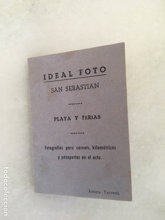 Coleccionismo Papel Varios: Guarda - fotos antiguo publicidad Al polo Norte San Sebastian - Foto 2 - 163556241