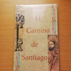 Coleccionismo Papel Varios: EL CAMINO DE SANTIAGO (MAPA + LIBRITO) EDITORIAL EVEREST. Lote 163592002