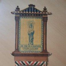 Coleccionismo Papel Varios: ANTIGUO CALENDARIO PARED MOLINO ESPECIERO SAN JOSE DE LA MONTAÑA PACHECO MURCIA CAMPO DE CARTAGENA. Lote 163680546