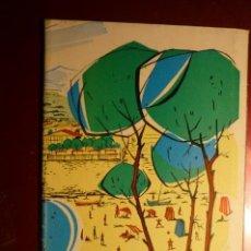 Coleccionismo Papel Varios: PROGRAMA TURISTICO SALOU -DESPLEGABLE CON PLANO, FOTOS,DATOS... Lote 163735534