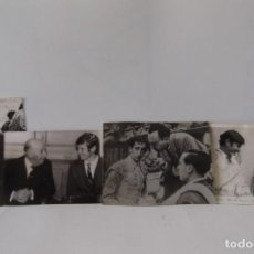 Coleccionismo Papel Varios - LOTE 1- MANOLETE-1947- ANTONIO BIENVENIDA- EL CORDOBES- 1963- 4 FOTOS DE EPOCA - ORIGINALES- - 164494670