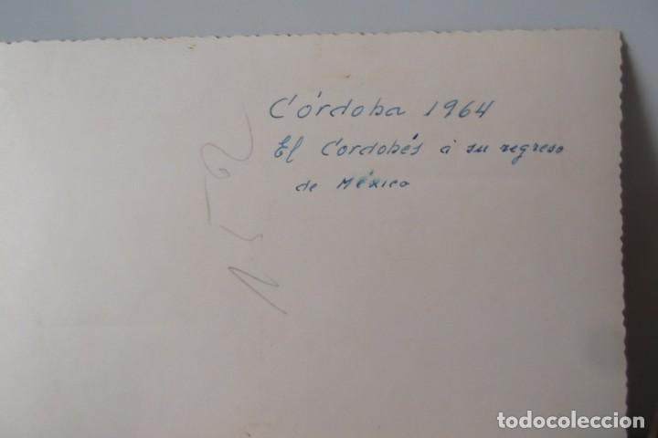 Coleccionismo Papel Varios: LOTE 2- EL CORDOBES- FOTOS ORIGINALES- 1961 - 1964. - Foto 4 - 164520026