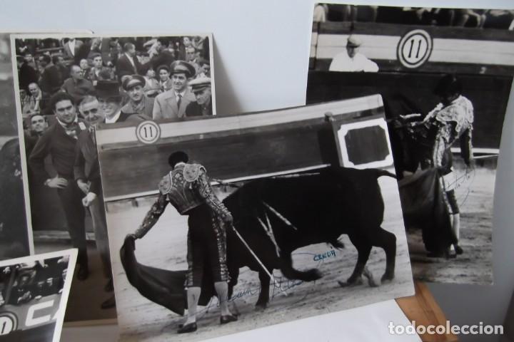 Coleccionismo Papel Varios: LOTE 2- EL CORDOBES- FOTOS ORIGINALES- 1961 - 1964. - Foto 9 - 164520026
