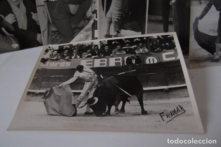 Coleccionismo Papel Varios: LOTE 2- EL CORDOBES- FOTOS ORIGINALES- 1961 - 1964. - Foto 10 - 164520026