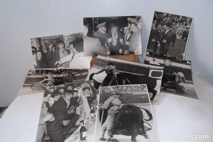 Coleccionismo Papel Varios: LOTE 2- EL CORDOBES- FOTOS ORIGINALES- 1961 - 1964. - Foto 11 - 164520026