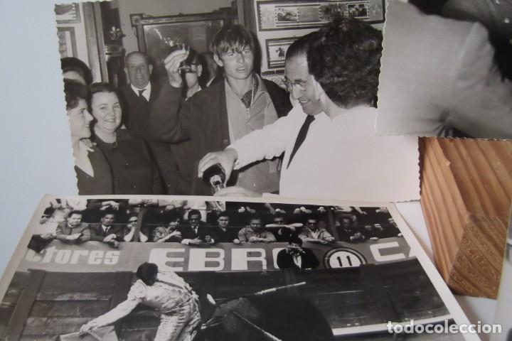 Coleccionismo Papel Varios: LOTE 2- EL CORDOBES- FOTOS ORIGINALES- 1961 - 1964. - Foto 15 - 164520026