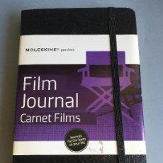 Coleccionismo Papel Varios: MAGNIFICA AGENDA MOLESKINE PASSIONS FILM JOURNAL, CARNET FILMS, EN INGLES, PARA ESTRENAR. Lote 165075830