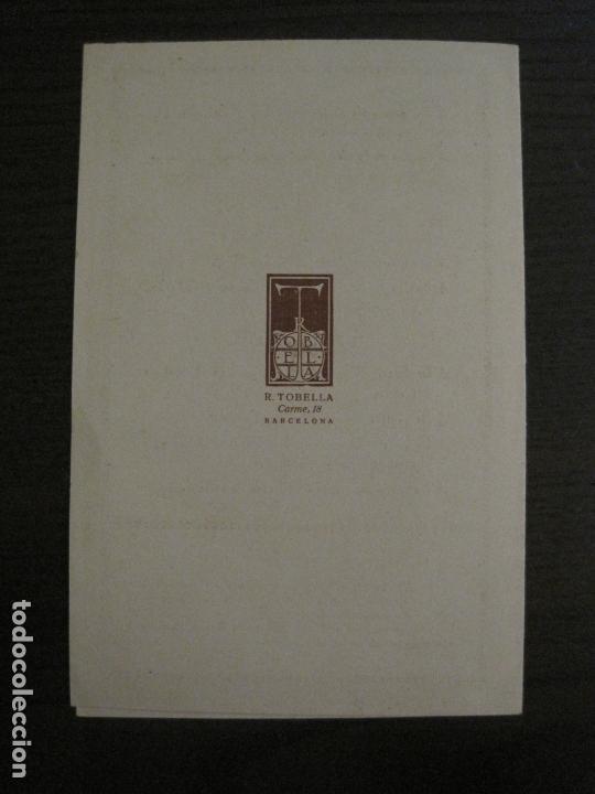 Coleccionismo Papel Varios: SANT GENIS DE VILASSAR-FESTA MAJOR DELS SANTS MARTIRS-ANY 1925-VER FOTOS-(V-17.029) - Foto 6 - 165106706