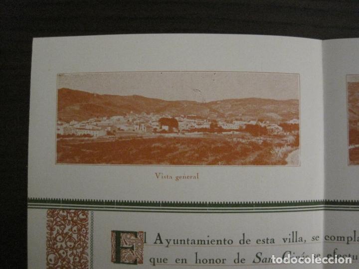 Coleccionismo Papel Varios: SANT GENIS DE VILASSAR-SAN GINES DE VILASAR-FESTEJOS AÑO 1928-VER FOTOS-(V-17.030) - Foto 5 - 165106870