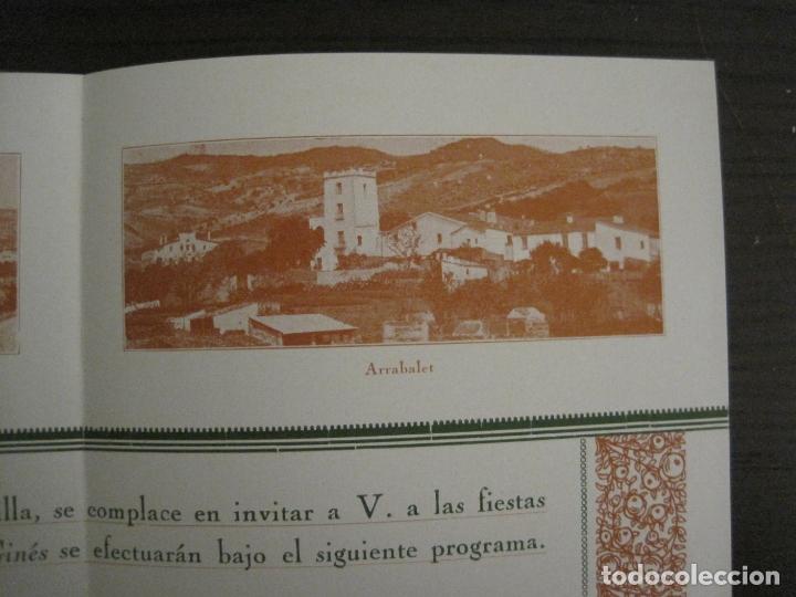 Coleccionismo Papel Varios: SANT GENIS DE VILASSAR-SAN GINES DE VILASAR-FESTEJOS AÑO 1928-VER FOTOS-(V-17.030) - Foto 6 - 165106870