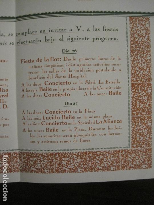 Coleccionismo Papel Varios: SANT GENIS DE VILASSAR-SAN GINES DE VILASAR-FESTEJOS AÑO 1928-VER FOTOS-(V-17.030) - Foto 9 - 165106870