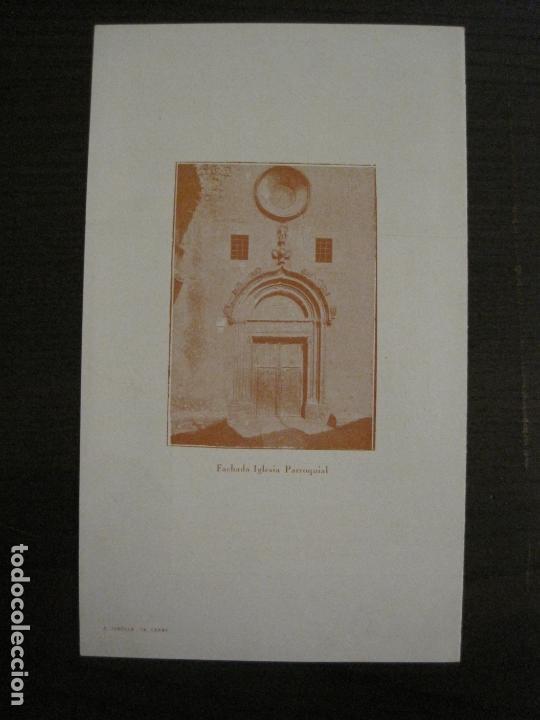 Coleccionismo Papel Varios: SANT GENIS DE VILASSAR-SAN GINES DE VILASAR-FESTEJOS AÑO 1928-VER FOTOS-(V-17.030) - Foto 10 - 165106870