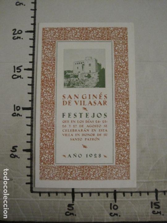 Coleccionismo Papel Varios: SANT GENIS DE VILASSAR-SAN GINES DE VILASAR-FESTEJOS AÑO 1928-VER FOTOS-(V-17.030) - Foto 11 - 165106870