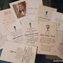 Coleccionismo Papel Varios: ANTIGUAS ESTAMPAS RELIGIOSAS COMUNIÓN LETUR ALBACETE AÑOS 50. Lote 165377826