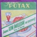 Coleccionismo Papel Varios: SOBRE PAPEL FLAN POTAX, VAINILLA, MIDE APROX. 8 X 10,5 CM. Lote 165492454
