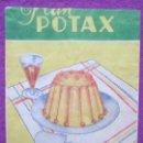 Coleccionismo Papel Varios: SOBRE PAPEL FLAN POTAX, VAINILLA, MIDE APROX. 8 X 10,5 CM. Lote 165492546