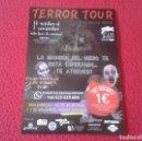 Coleccionismo Papel Varios: FOLLETO HOJA FLYER PUBLICIDAD O SIMILAR TERROR TOUR HELLOWEEN 2016 MANSIÓN DEL MIEDO...VER FOTO/S . Lote 165529586