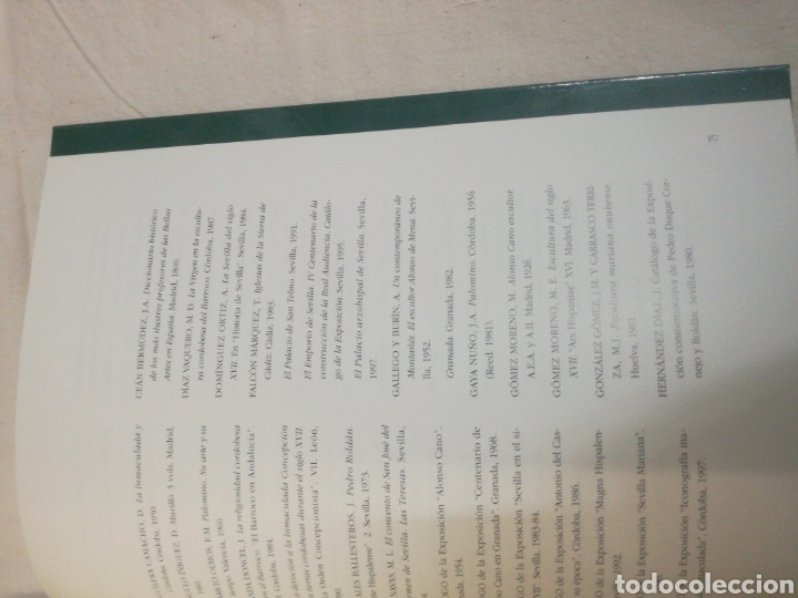Coleccionismo Papel Varios: CATALOGO LA IMACULADA EN EL ARTE ANDALUZ - Foto 3 - 165599810