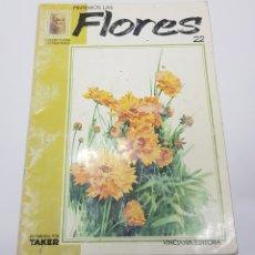 Coleccionismo Papel Varios - PINTEMOS Las flores 22 COLECCIÓN LEONARDO. VINCIANA EDITORA - tdkr62 - 165619002