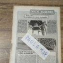 Coleccionismo Papel Varios: MFF.- MATILDE, 1908. LA CAMPANA DEL RELOJ DE LOS JUZGADOS. LA GRAN DESTRCCION DE NUESSTRO PATRIMONIO. Lote 165675834