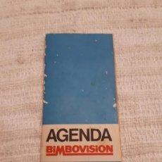 Coleccionismo Papel Varios: AGENDA BIMBOVISION. Lote 166131909
