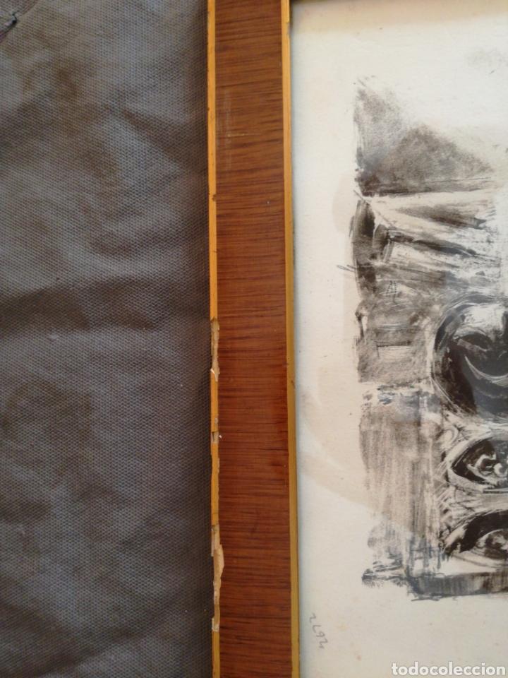Coleccionismo Papel Varios: BONITA IMPRESION ENMARCADA - Foto 4 - 166435894