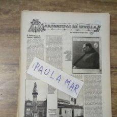 Coleccionismo Papel Varios: MFF.- ARZOBISPOS DE SEVILLA. D. PEDRO VACA DE CASTRO Y QUIÑONES.-. Lote 166440358