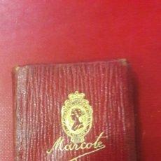 Coleccionismo Papel Varios: MINI LIBRETA MARCOTE. Lote 166488308
