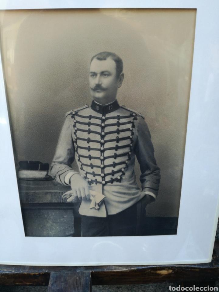 ANTIGUA FOTO DE GEORGES PENABET REPRESENTA MILITAR (Coleccionismo en Papel - Varios)