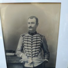 Coleccionismo Papel Varios: ANTIGUA FOTO DE GEORGES PENABET REPRESENTA MILITAR. Lote 166433750