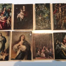 Coleccionismo Papel Varios: LOTE ANTIGUO IMPRESION EN TABLA. Lote 166873068
