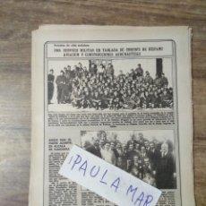 Coleccionismo Papel Varios: MFF.- RETRATO DE VIDA ANDALUZA.- 1945: SERVICIO MILITAR EN TABLADA DE OBREROS DE HISPANO AVIACION. Lote 167039156