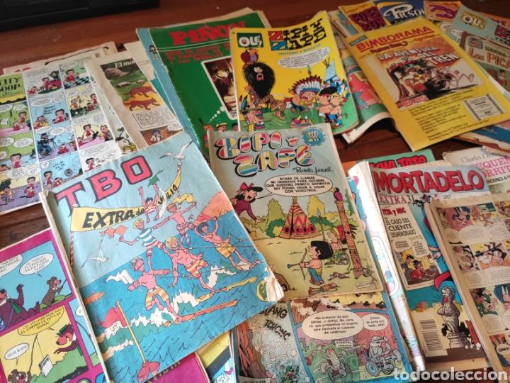 LOTE DE COMICS. TEBEOS (Coleccionismo en Papel - Varios)