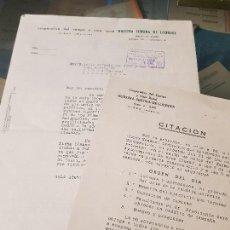 Coleccionismo Papel Varios: COOPERATIVA DEL CAMPO FRUTAS NUESTRA SEÑORA DE LOURDES CIEZA MURCIA . Lote 167832356