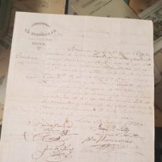 Coleccionismo Papel Varios: MINA IBERIA SOCIEDAD LA DISPUTADA ALMERIA LORCA MURCIA 1884. Lote 167915664
