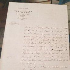 Coleccionismo Papel Varios: MINA IBERIA SOCIEDAD PARTIDARIA LA DISPUTADA ALMERIA LORCA MURCIA 1884. Lote 167916324